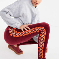 Puma Fenty by Rihanna Lace-Up Velour Legging | Urban Outfitters