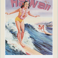 Travel Ads (Vintage Art) Art Poster at AllPosters.com
