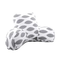Printed Reading Pillow - Alli - Storm Gray