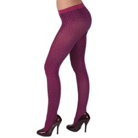 Hailey Jeans Co Juniors Patterned Seamless Fashion Tights