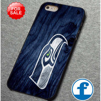 Seattle Seahawks Black Wood   for iphone, ipod, samsung galaxy, HTC and Nexus PHONE CASE