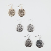 FULL TILT Flower Disc Earrings | Earrings