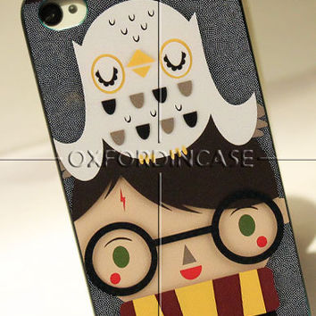 Harry Potter and Hedwig Owl - for iPhone 4/4S case iPhone 5 case Samsung Galaxy S2/S3/S4 case hard case