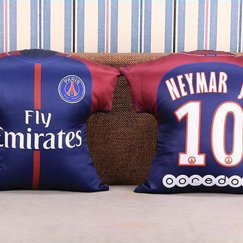 KUYOU PSG 17/18 Jersey Pillow Could Custom Name and Number
