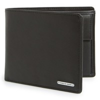 Men's Porsche Design 'CL2 2.0' Leather Billfold Wallet - Black