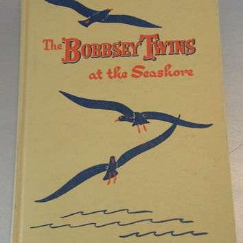 The Bobbsey Twins at the Seashore 1950 Hardcover Edition. Vintage Book Vintage Children's Book