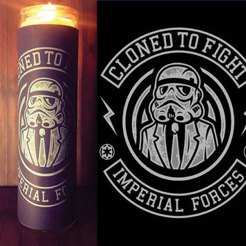 Star Wars Rogue One, Custom Scented Candle, Prayer Candle, Gift Idea, Good Vibes Only, Gifts for Him, Best Scented Candles, Star Wars Decor