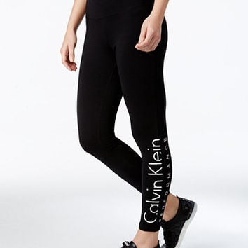 Calvin Klein Performance Logo Leggings | macys.com