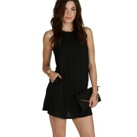 Sale-black Ready For Anything Shift Tunic