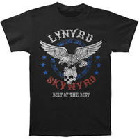 Lynyrd Skynyrd Men's  Best Of The Best T-shirt Black