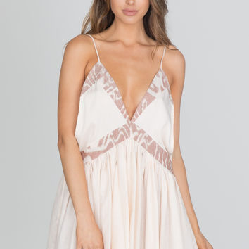 Indah - Dream Mini Dress | Sand
