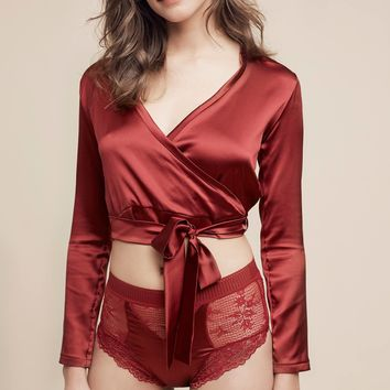Else Ballet Wrap Top