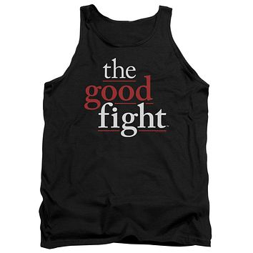The Good Fight Tanktop Logo Black Tank