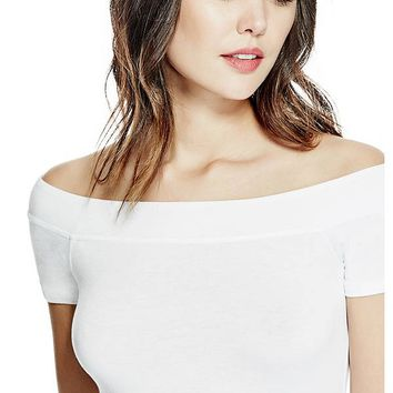 Norah Off-the-Shoulder Top at Guess