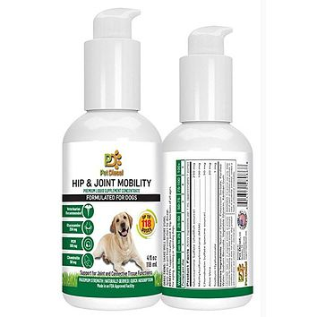 Liquid Vitamins for Hip & Joint Mobility for Dogs