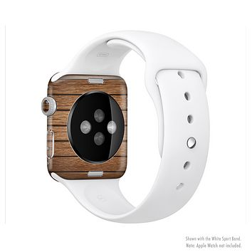 The Bolted Wood Planks Full-Body Skin Kit for the Apple Watch