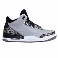 Jordan 3 Retro Wolf Grey Metallic Silver