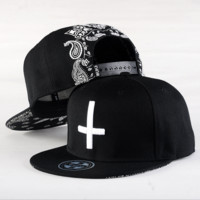 Cross Hip-hop Baseball Cap Hat