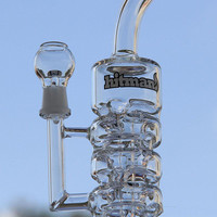 TORO Glass Sundae Stack Glass Bongs Newest Glass Oil Rigs Water Pipes Thick And Sturdy Glass oil rig glass bubbler