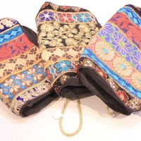 Double Compartment Make up Bag
