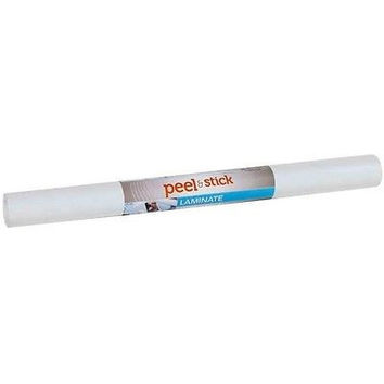 "Duck Peel  Stick Laminate, Adhesive Shelf Liner, 20"" X 15', White"