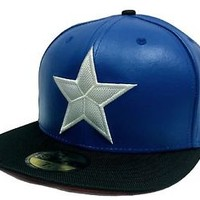 NEW ERA 59fifty Character Suit Captain America Winter Soldier Fitted Cap Marvel