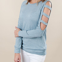 A Cut Above Long Sleeve Top