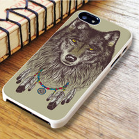 wolf Dream catcher Dream catcher wolf animal | For iPhone 6 Plus Cases | Free Shipping | AH0986
