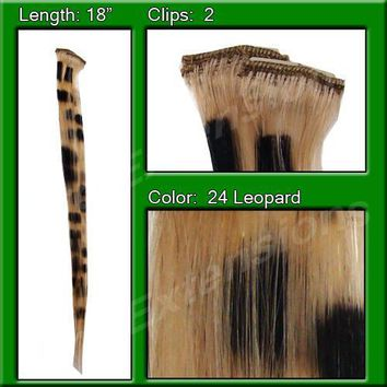 Blonde Leopard Highlight Streak Pack