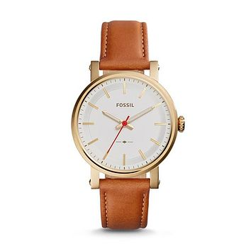 Original Boyfriend Sport Three-Hand Luggage Leather Watch | FOSSIL