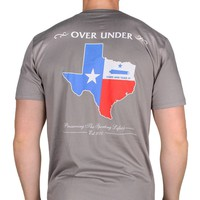 Come And Take It Texas Tee in Grey by Over Under Clothing