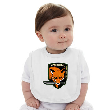 Metal Gear Solid Fox Hound Baby Bib