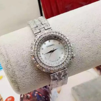 """CHANEL"" Women Fashion Luxury Diamond Quartz Watch Casual Wristwatch"