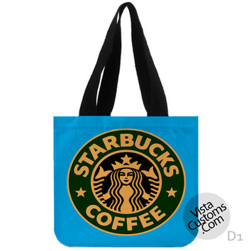 Starbucks Coffee New Hot, handmade bag, canvas bag, tote bag