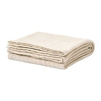 GURLI Throw, white, beige - IKEA