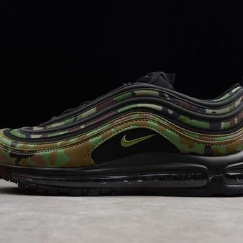 Mens Nike Air Max 97 Country Camo Pack Japan Pale Olive/black-safari Aj2614-203 - Beauty Ticks