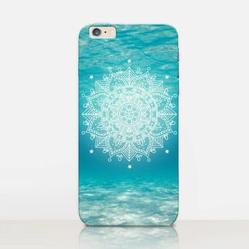 Beach Mandala Phone Case For-iPhone 6 Case - iPhone 5 Case - iPhone 4 Case - Samsung S4 Case - iPhone 5C - Tough Case - Matte Case - Samsung