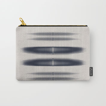 Almost Cozy glitch Carry-All Pouch by duckyb