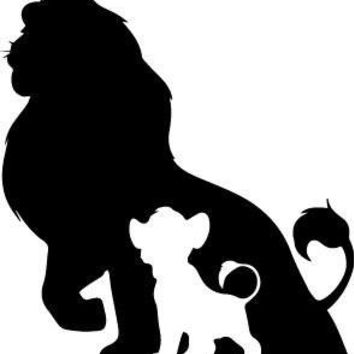 The Lion King Fathers Shawdow  Logo Vinyl Sticker Decal Car Truck Windon Wall Laptop notebook