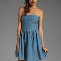 Jack by BB Dakota Jouett Chambray Dress in Dark Denim from REVOLVEclothing.com