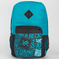 Young & Reckless Ranger Backpack Teal Blue One Size For Men 21854924601