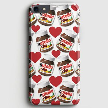 Nutella Pattern iPhone 7 Case | casescraft