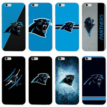 Carolina Panthers slim silicone Soft phone case For LG G2 G3 mini spirit G4 G5 G6 K7 K8 K10 2017 V10 V20 V30