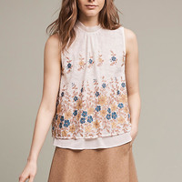 Embroidered Flora Blouse
