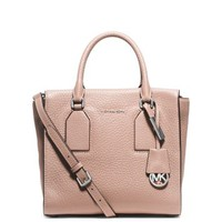 Selby Medium Leather Satchel | Michael Kors