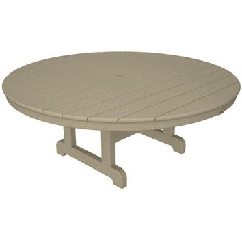"Trex Outdoor Furniture Cape Cod Round 48"" Conversation Table"