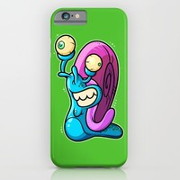 Aww Snail iPhone & iPod Case by Artistic Dyslexia | Society6