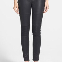 Paige Denim 'Demi' Coated Ultra Skinny Jeans