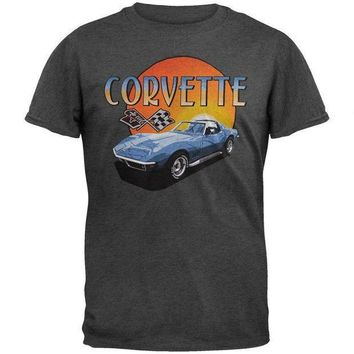LMFONU3 Corvette Sunset Soft T-Shirt