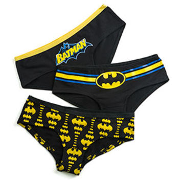 Batman Glow-in-the-Dark 3-Pack Panties